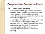 comprehensive examination results1