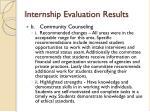 internship evaluation results1