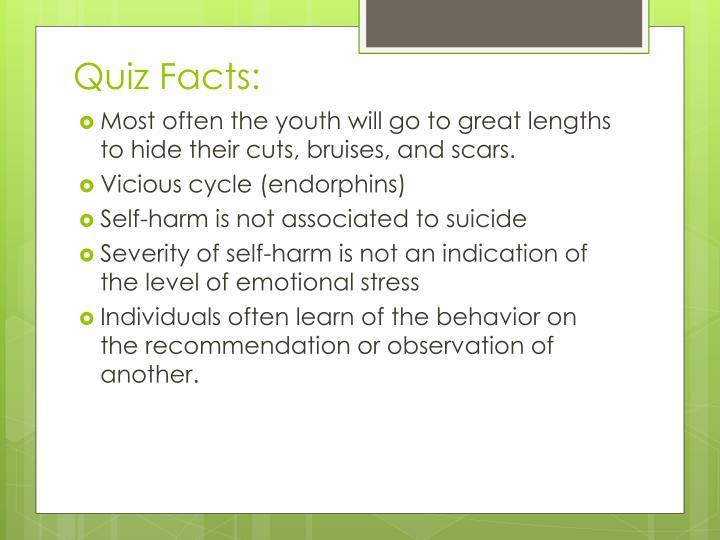 Quiz Facts