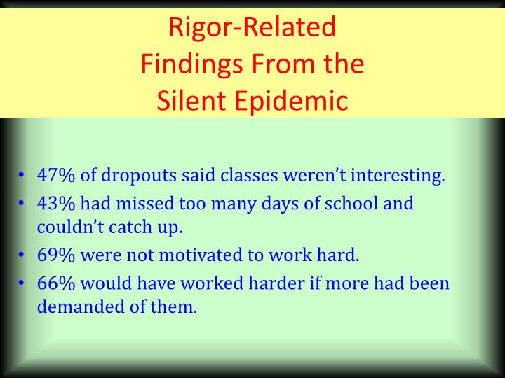 Rigor-Related