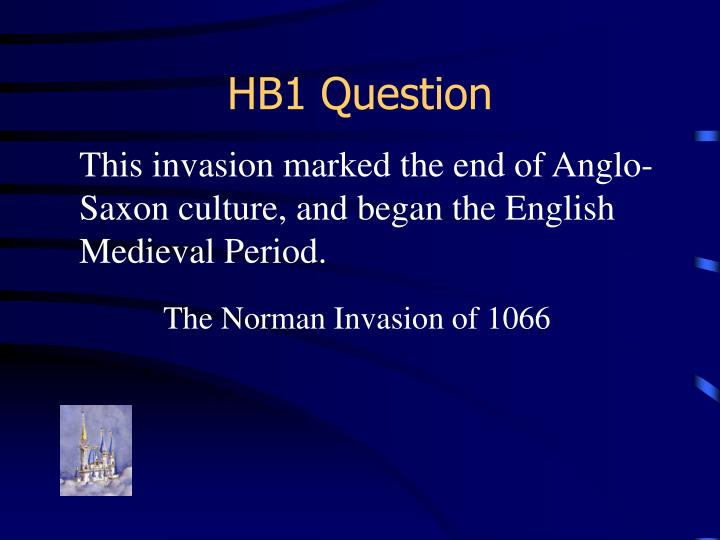 HB1 Question