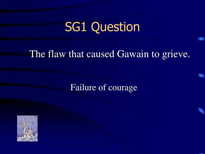 SG1 Question