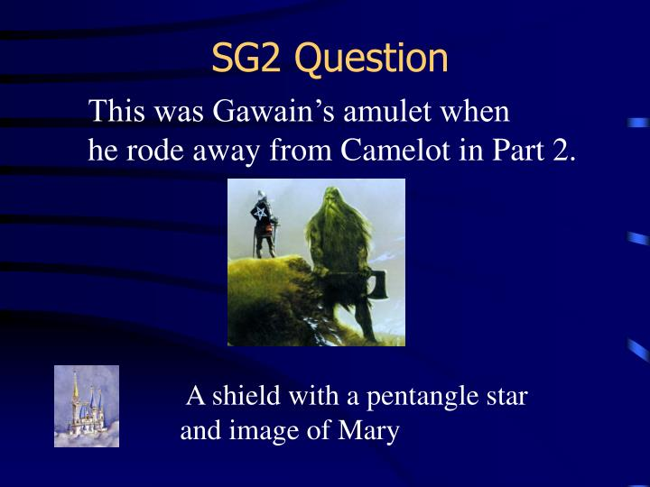 SG2 Question