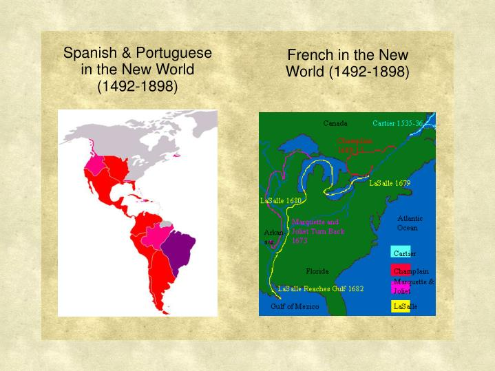 Spanish & Portuguese in the New World
