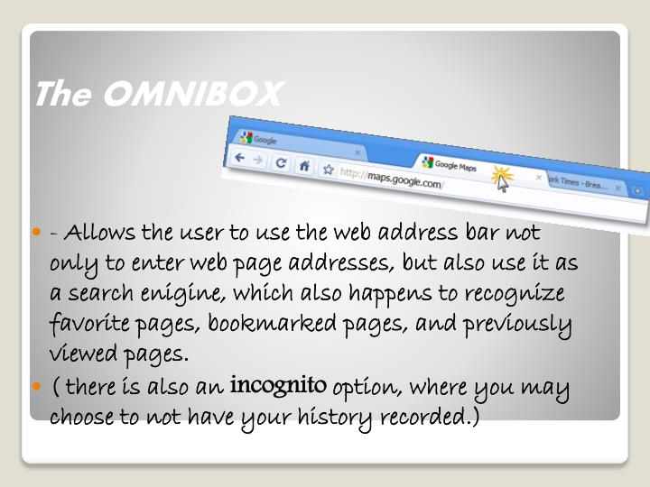 The OMNIBOX
