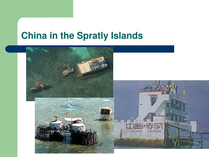 China in the Spratly Islands