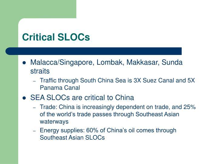 Critical SLOCs