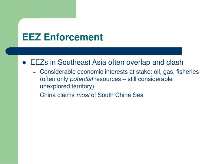 EEZ Enforcement