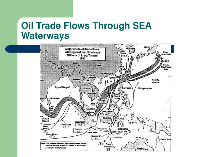 Oil Trade Flows Through SEA Waterways