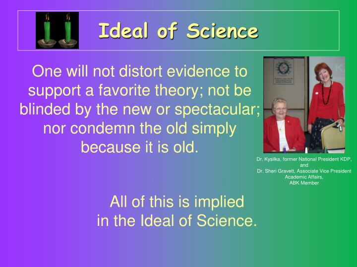 Ideal of Science
