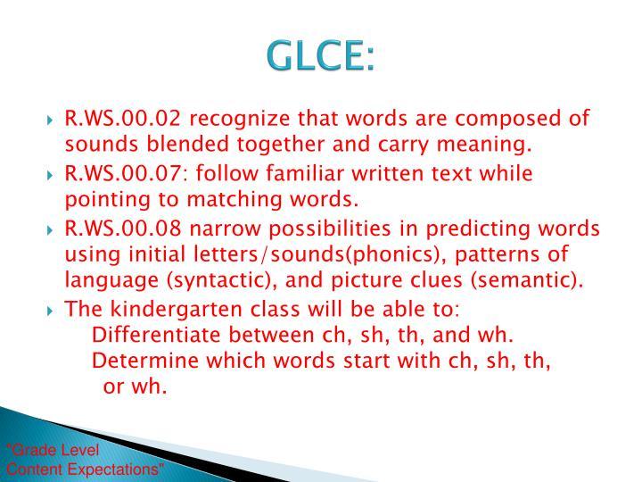 GLCE: