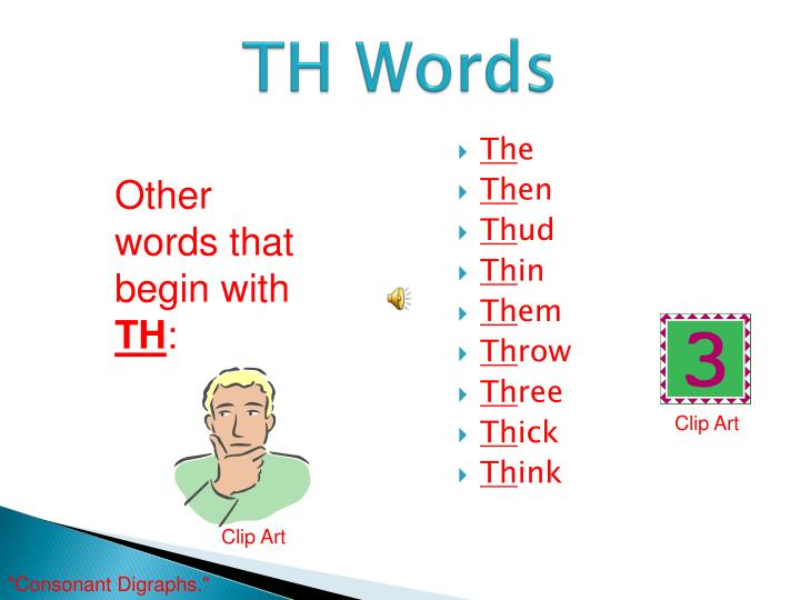 TH Words