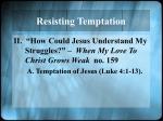 resisting temptation1