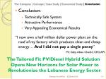 the company concept case study economical study conclusion11