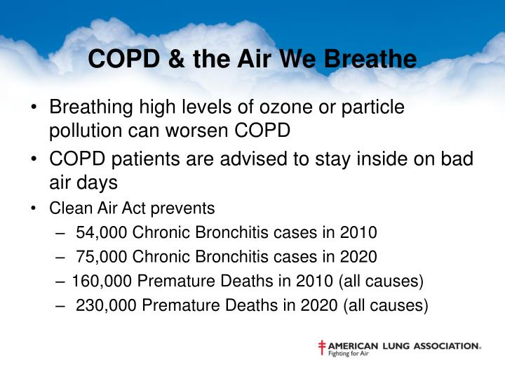 COPD & the Air We Breathe