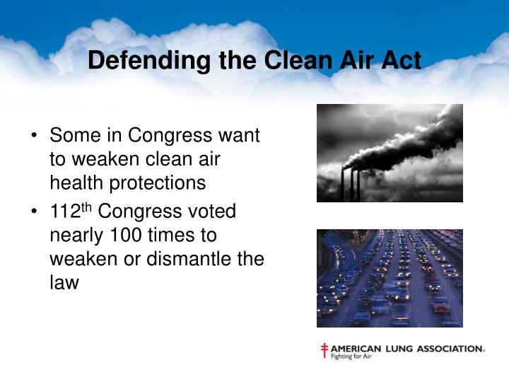 Defending the Clean Air Act