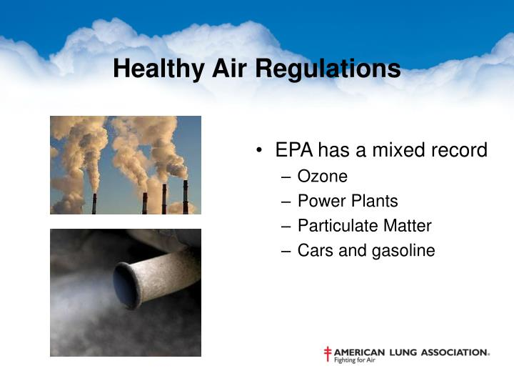 Healthy Air Regulations