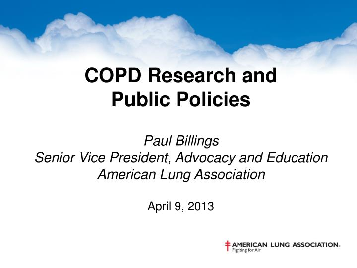 COPD Research and