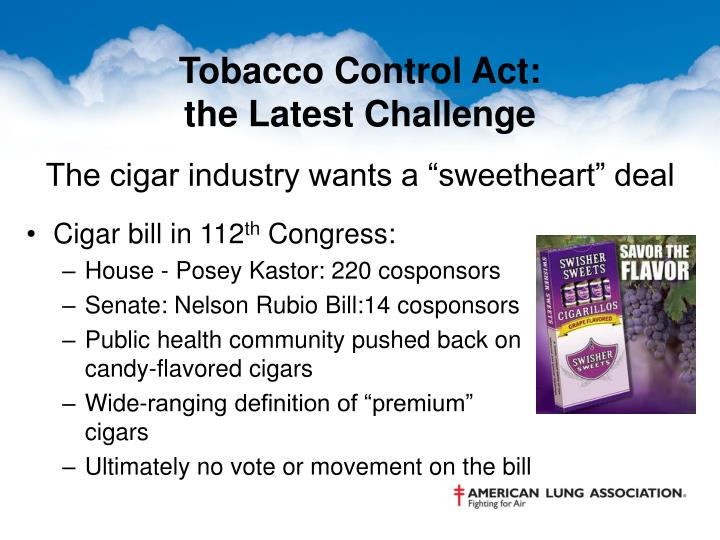 Tobacco Control Act: