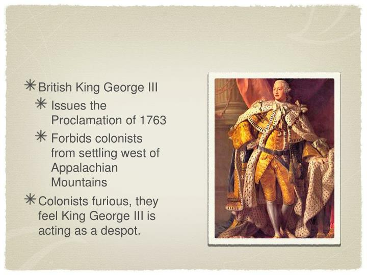 British King George III