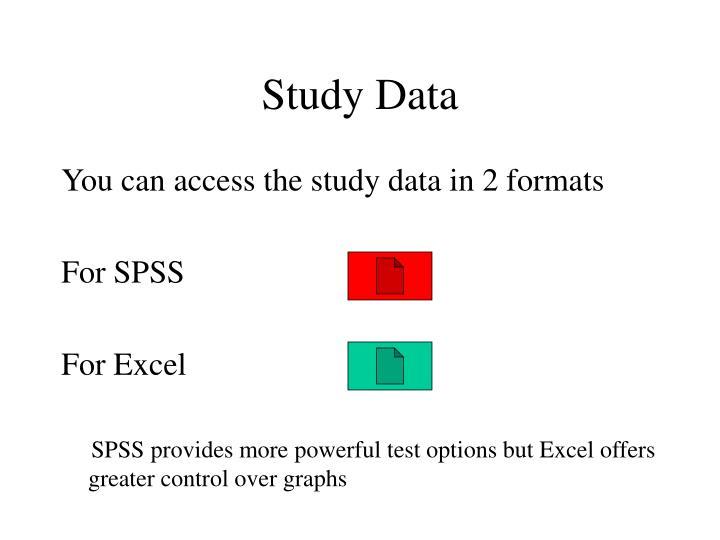 Study Data