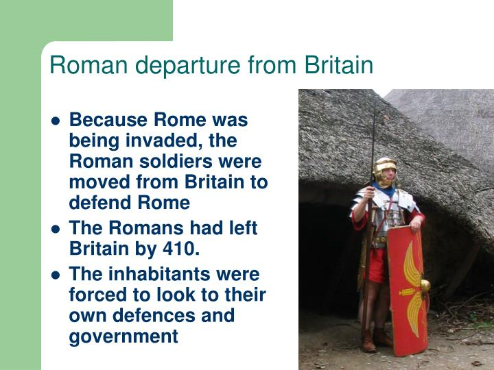 Roman departure from Britain