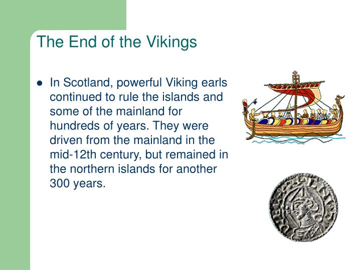 The End of the Vikings