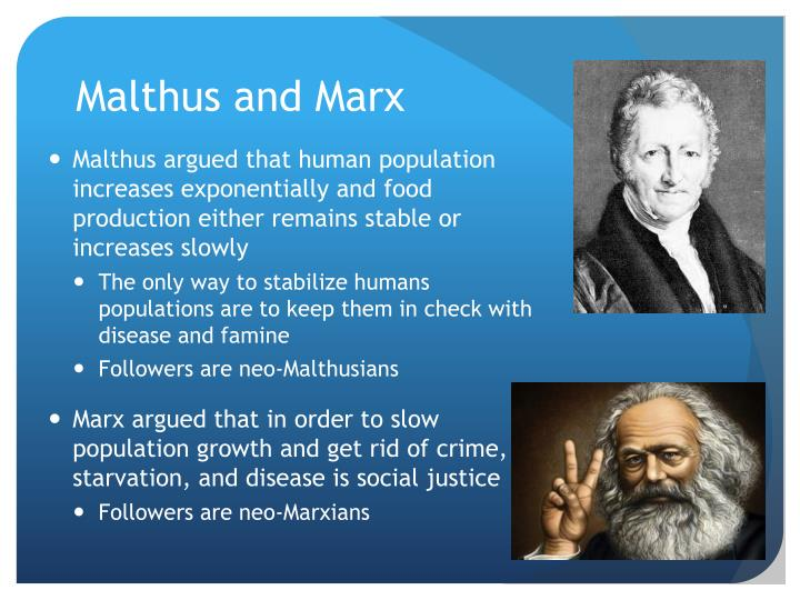 Malthus and Marx