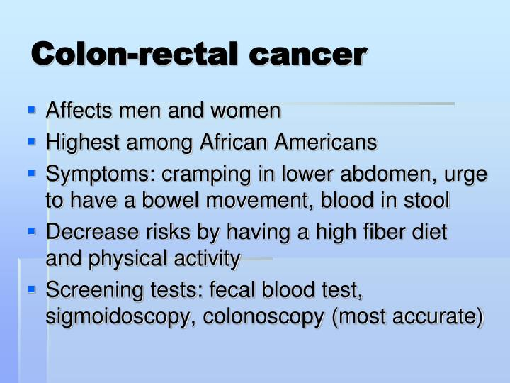 Colon-rectal cancer