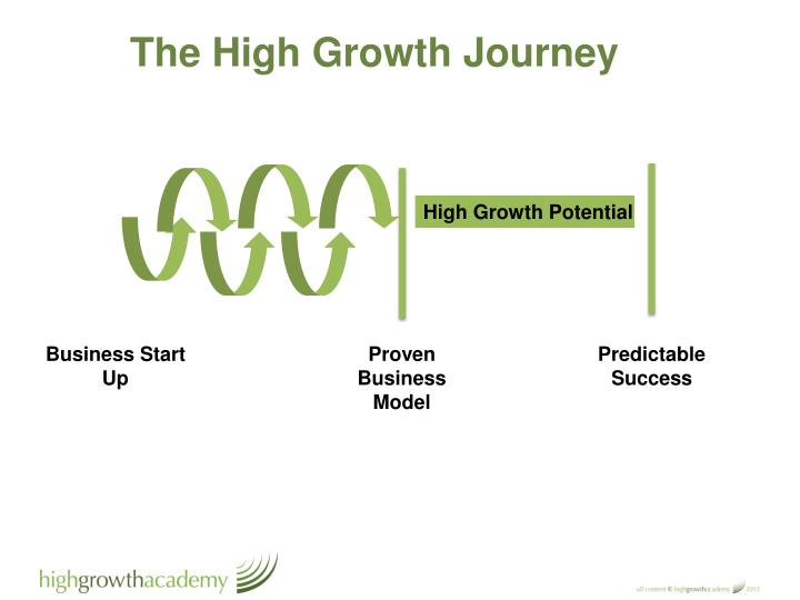The High Growth Journey