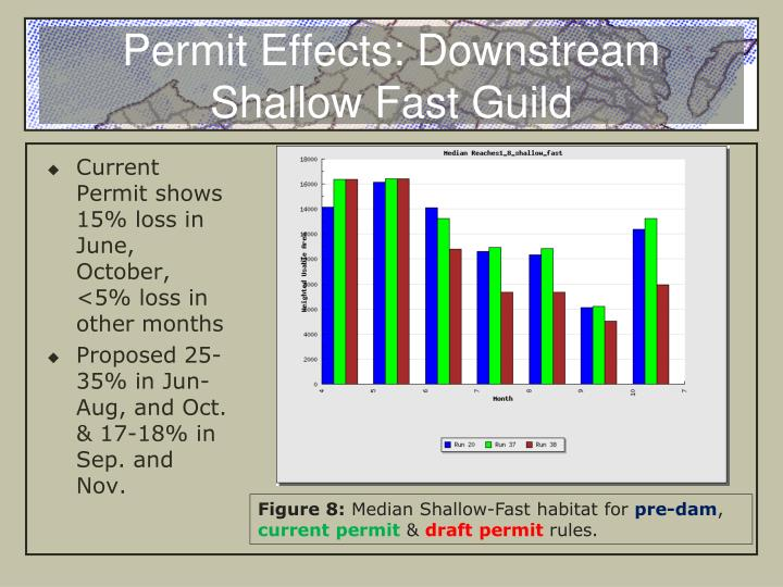 Permit Effects: Downstream Shallow Fast Guild