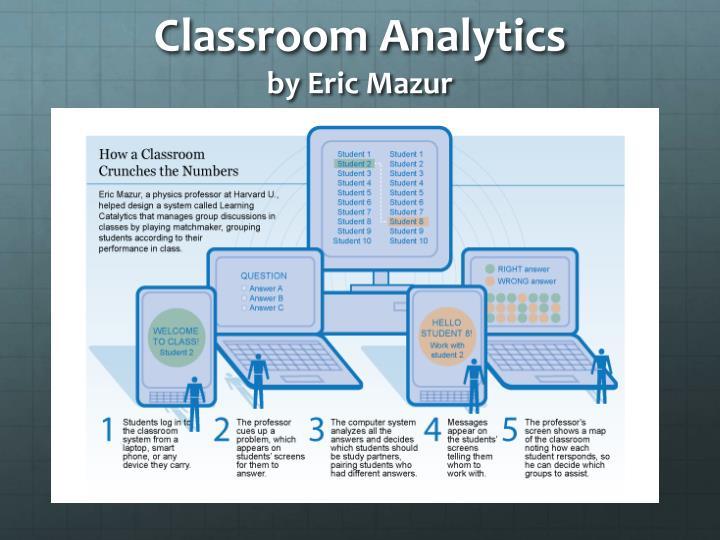 Classroom Analytics