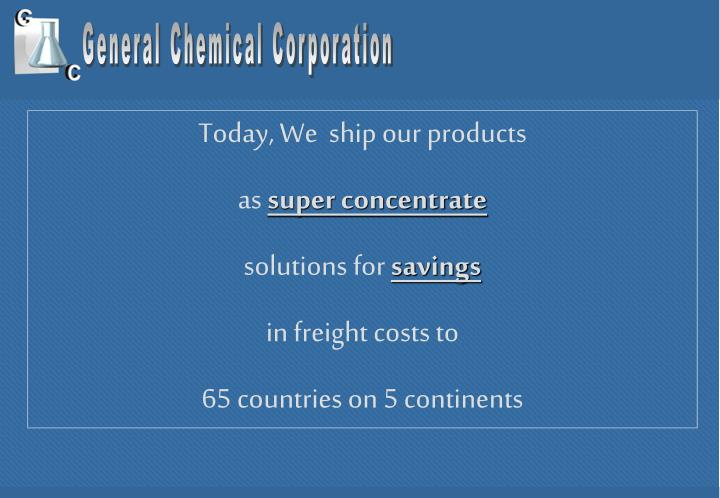 General Chemical Corporation