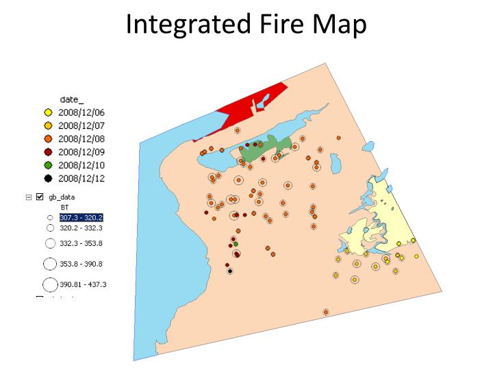 Integrated Fire Map