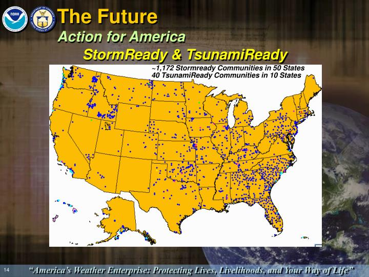 ~1,172 Stormready Communities in 50 States