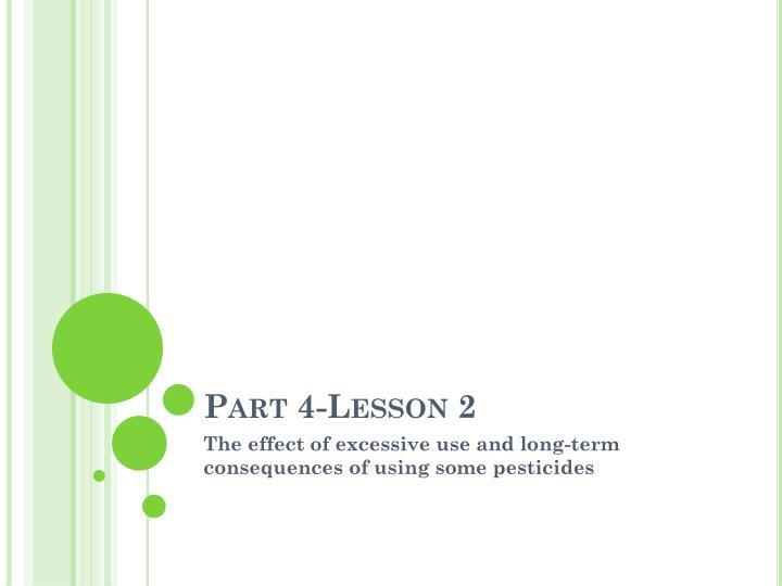 Part 4-Lesson 2