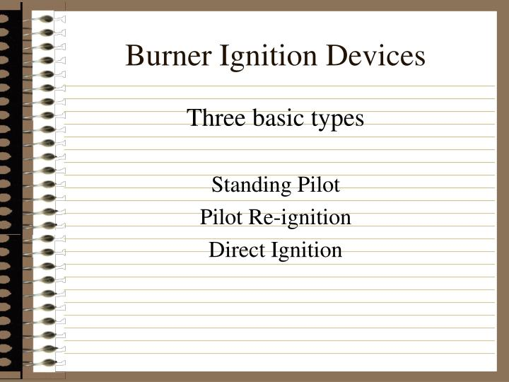 Burner Ignition Devices