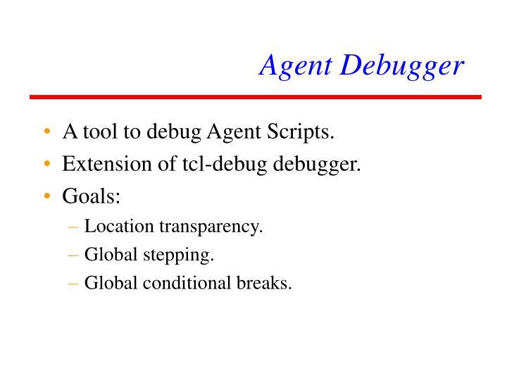 Agent Debugger