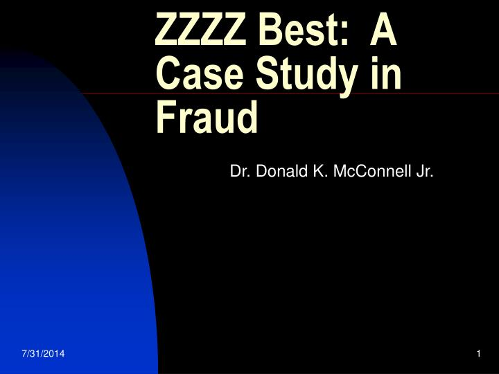 fraud case analysis Be symptoms of fraud in a number of cases, high ratios have identified payments incorrectly made to the vendor case study - doctored bills.