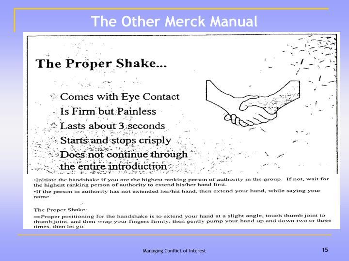 The Other Merck Manual