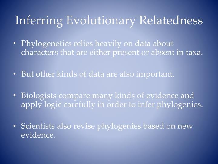 Inferring Evolutionary Relatedness