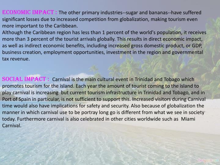 Economic impact :