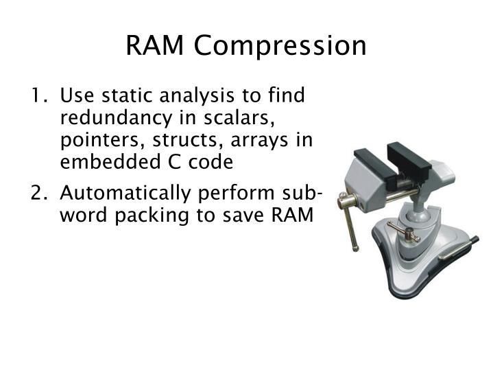 RAM Compression
