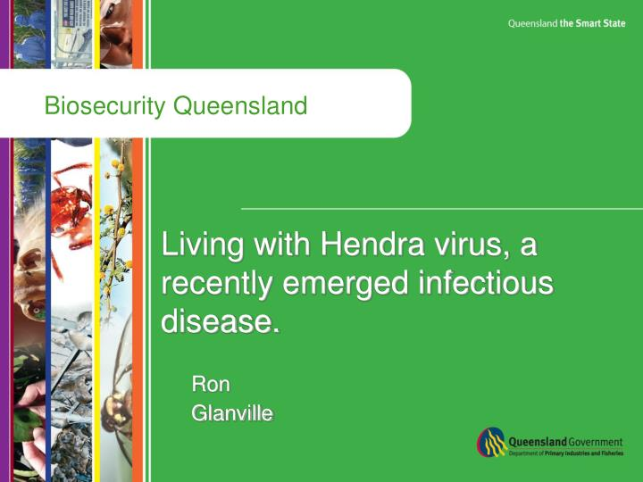 Living with hendra virus a recently emerged infectious disease