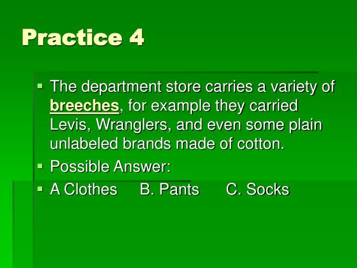 Practice 4
