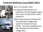 frederick mckinley jones 1892 1961