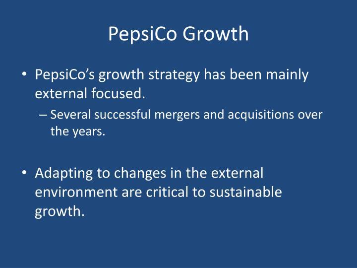 PepsiCo Growth