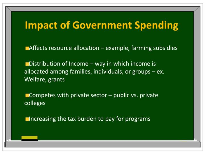 Impact of Government Spending