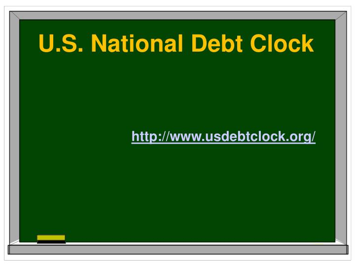 U.S. National Debt Clock