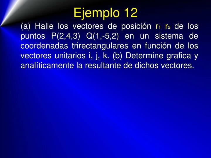 Ejemplo 12